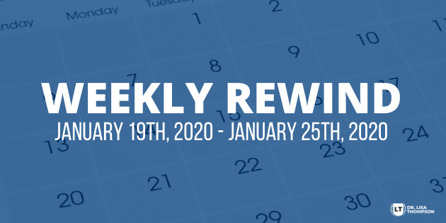 Week In Review: January 19th, 2020 – January 25th, 2020