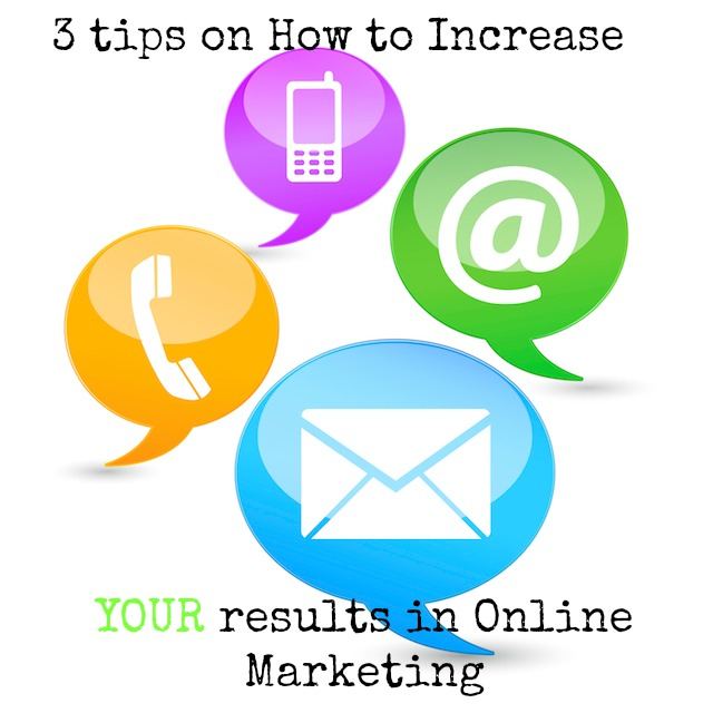 3 tips in Online Marketing
