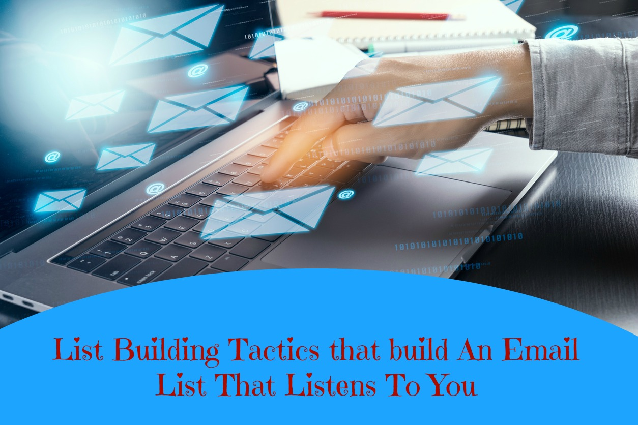List building email list