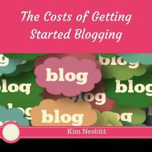 The Costs of Getting Started Blogging