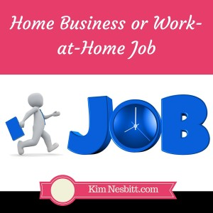 Home Business or Work-at-Home Job
