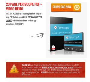 periscope training