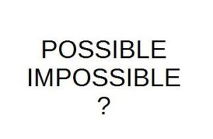 possible - impossible