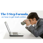 The 3 Step Formula on How To Get Leads Online