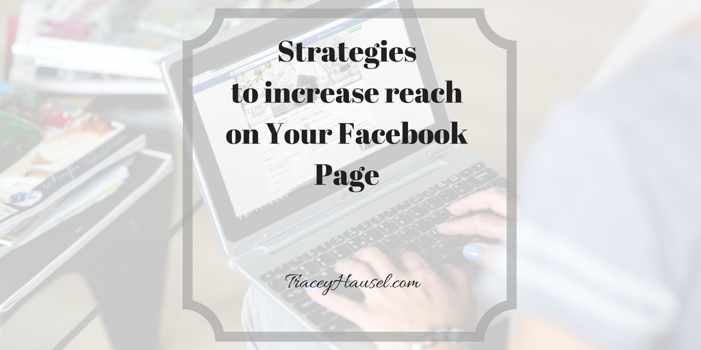 Facebook on a laptoop picture for the post Strategies to increase reach on Your Facebook Page