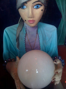 coin operated fortune teller