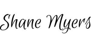 Shane Myers Logo Black w transparent background