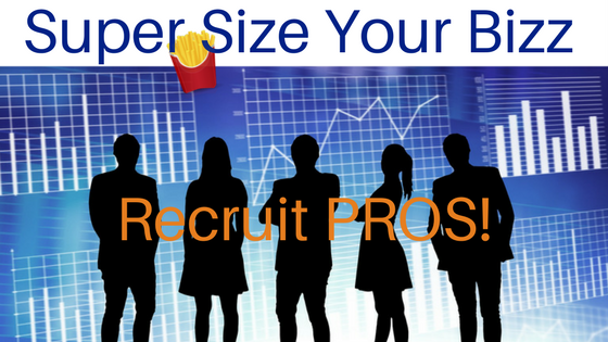 how to recruit professionals in network marketing
