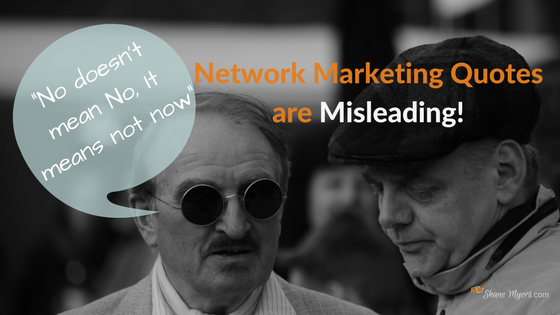 Network Marketing Quotes on Success are Misleading