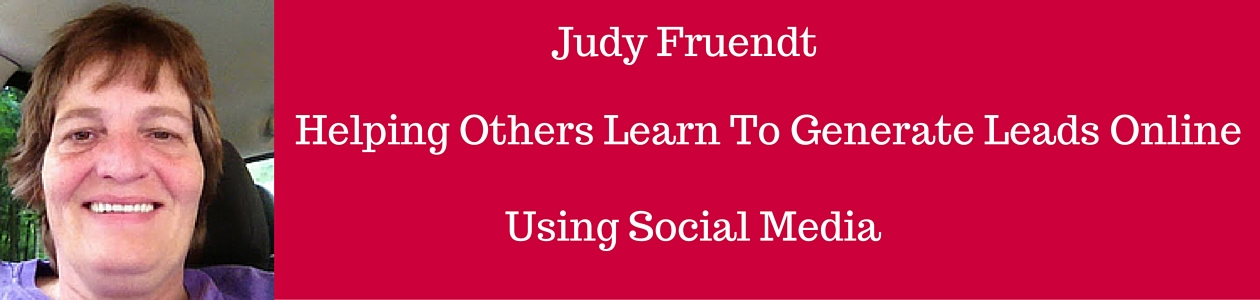 Judy Fruendt's  Blog
