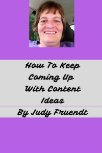 How To Keep Coming Up With Content Ideas