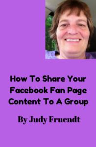 How To Share Your Facebook Fan Page Content To A Group