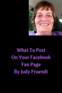 What To Post On Your FaceBook Fan Page