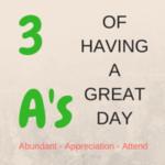 3 A's