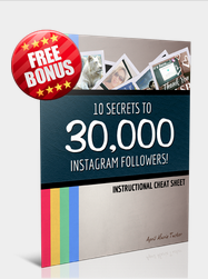 10 Secrets To 30,000Instagram Followers