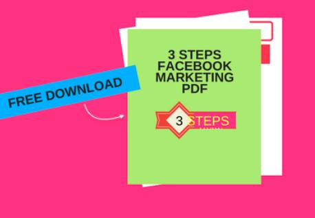 3 Steps Facebook Marketing Pdf