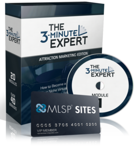 the 3 minute expert, mlsp, antonio starr, mlsp sites