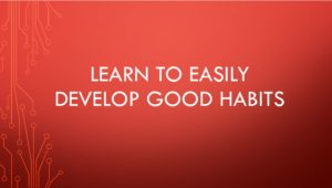 Successful habits formula