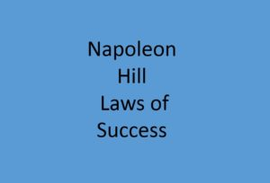 Napoleon Hill's fifteen laws of success