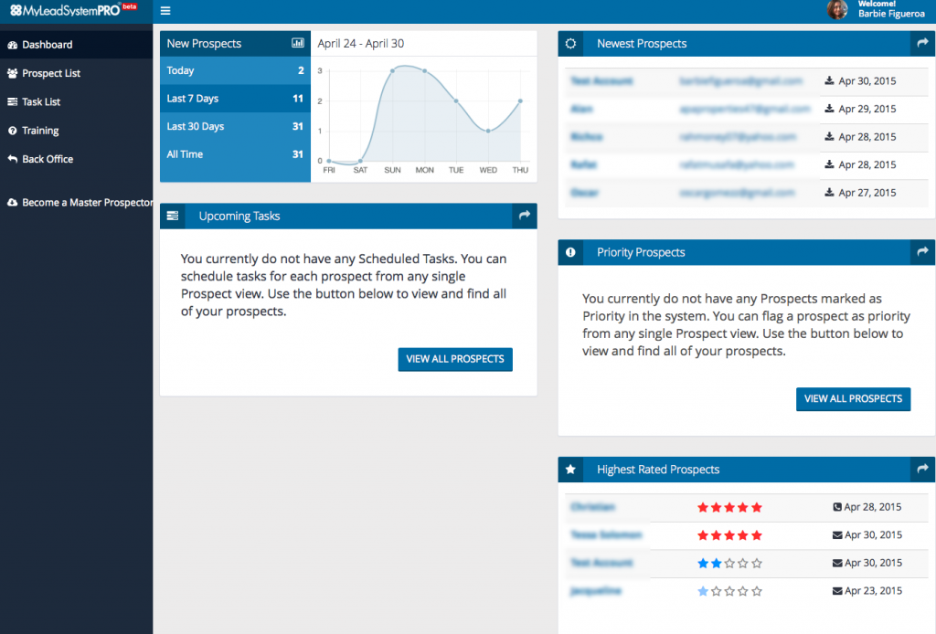My Lead System Pro CRM