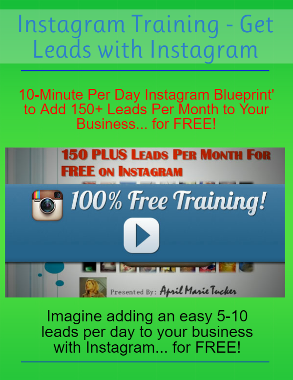 Instagram Training