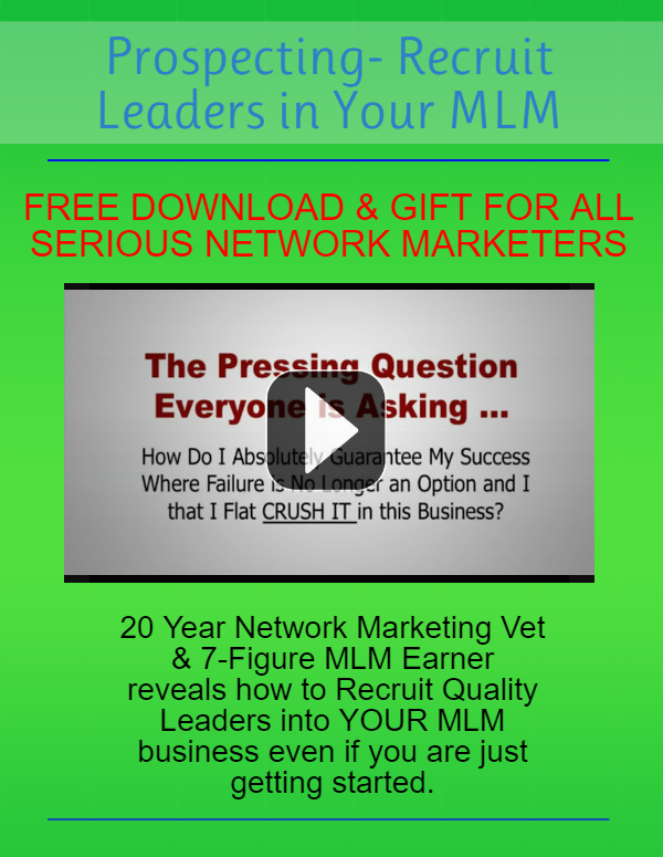 Recruit MLM Leaders