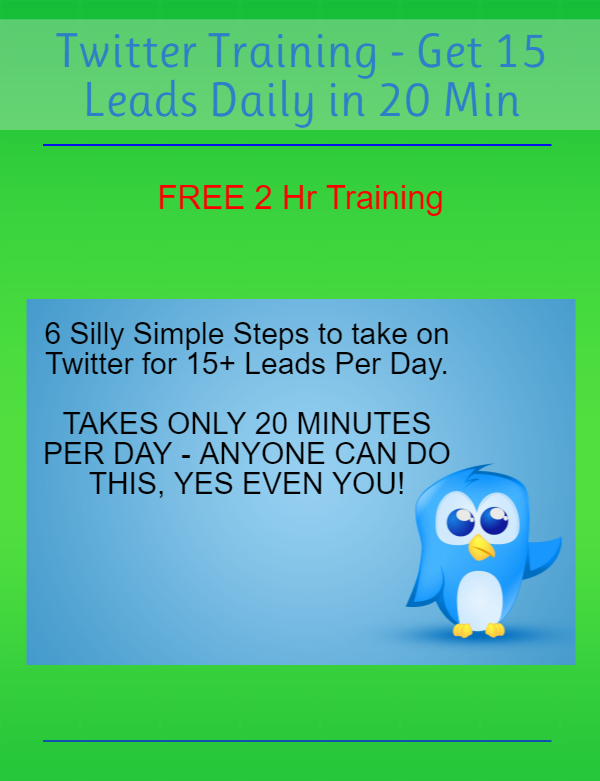 Twitter Leads Training