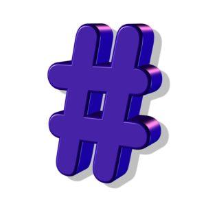 a hashtag