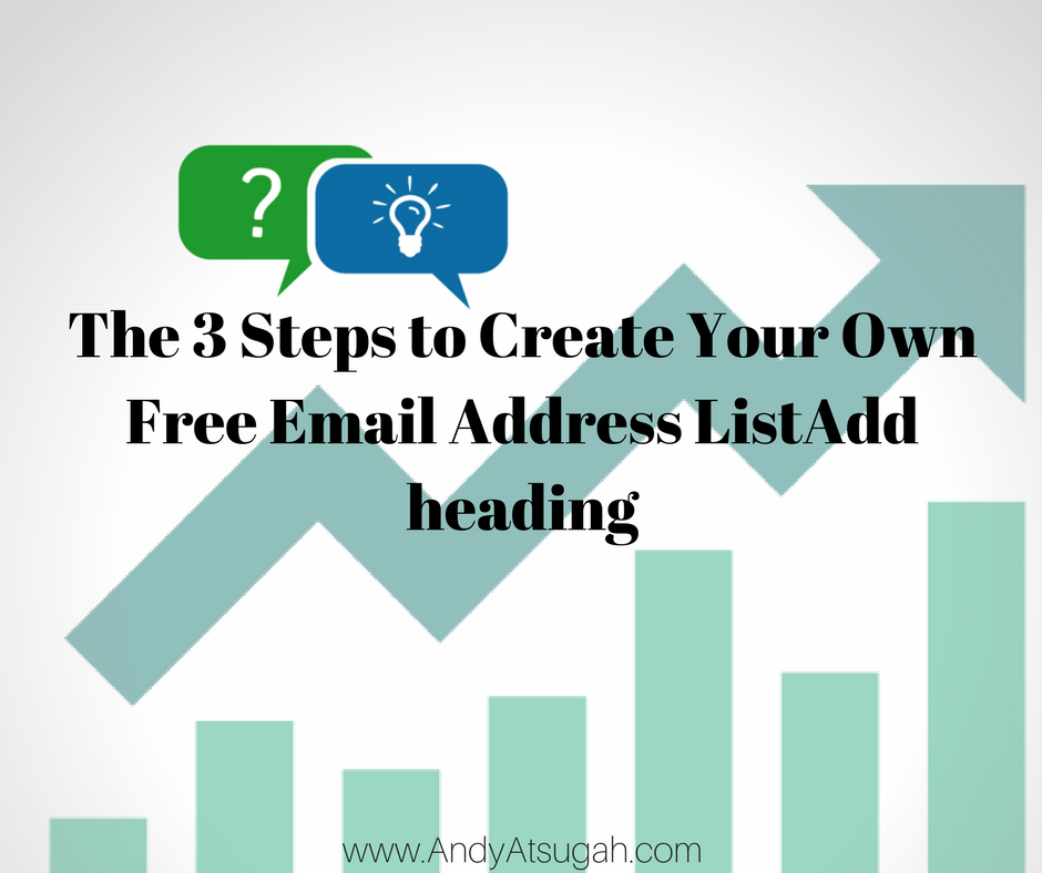 Free Email Address List