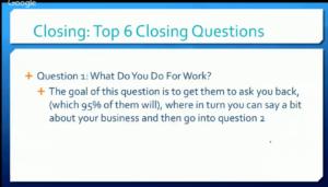 15. Question 1
