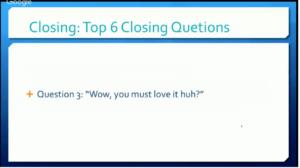 17. Question 3
