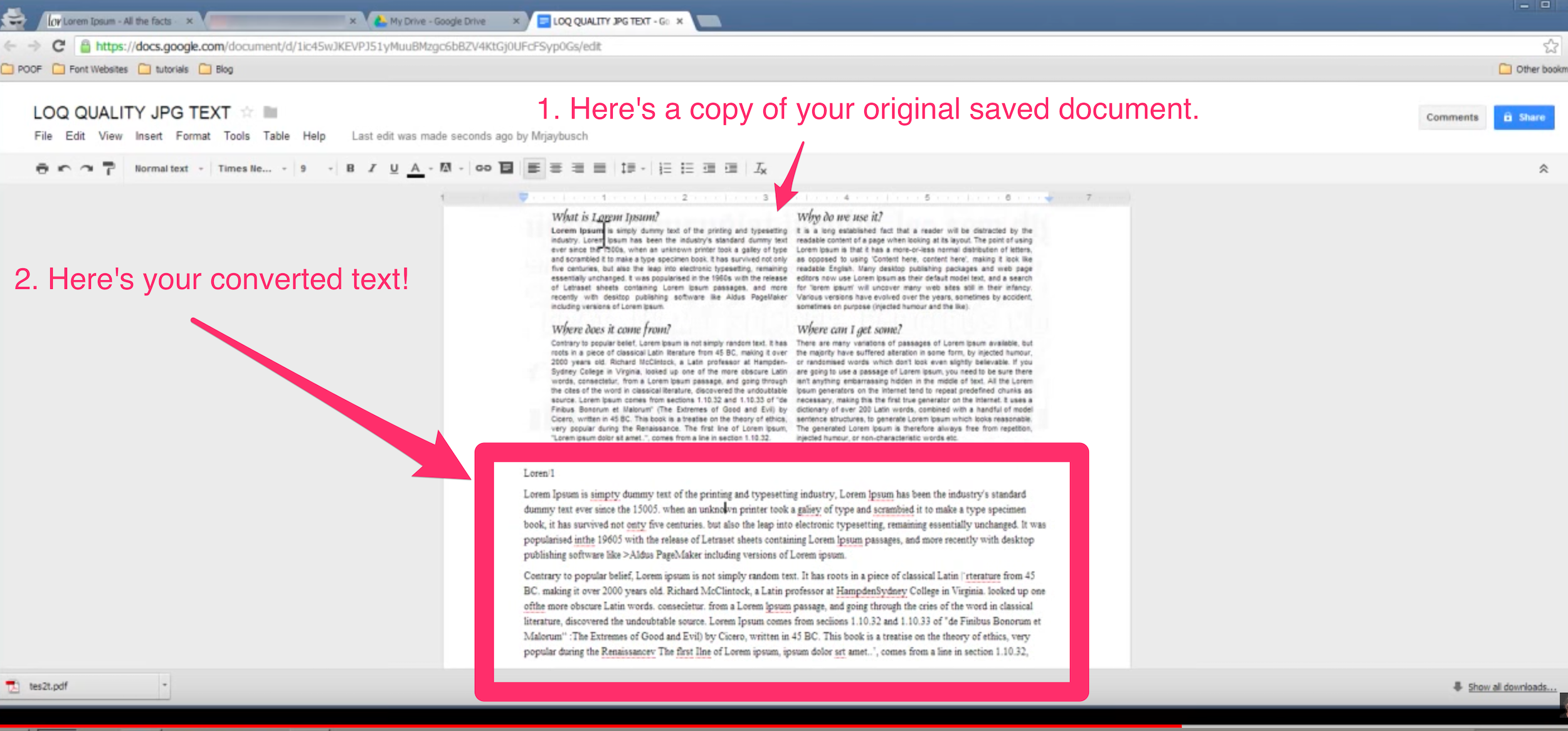 How To Extract Text From Pictures To Copy, Save And Amend FOR FREE!