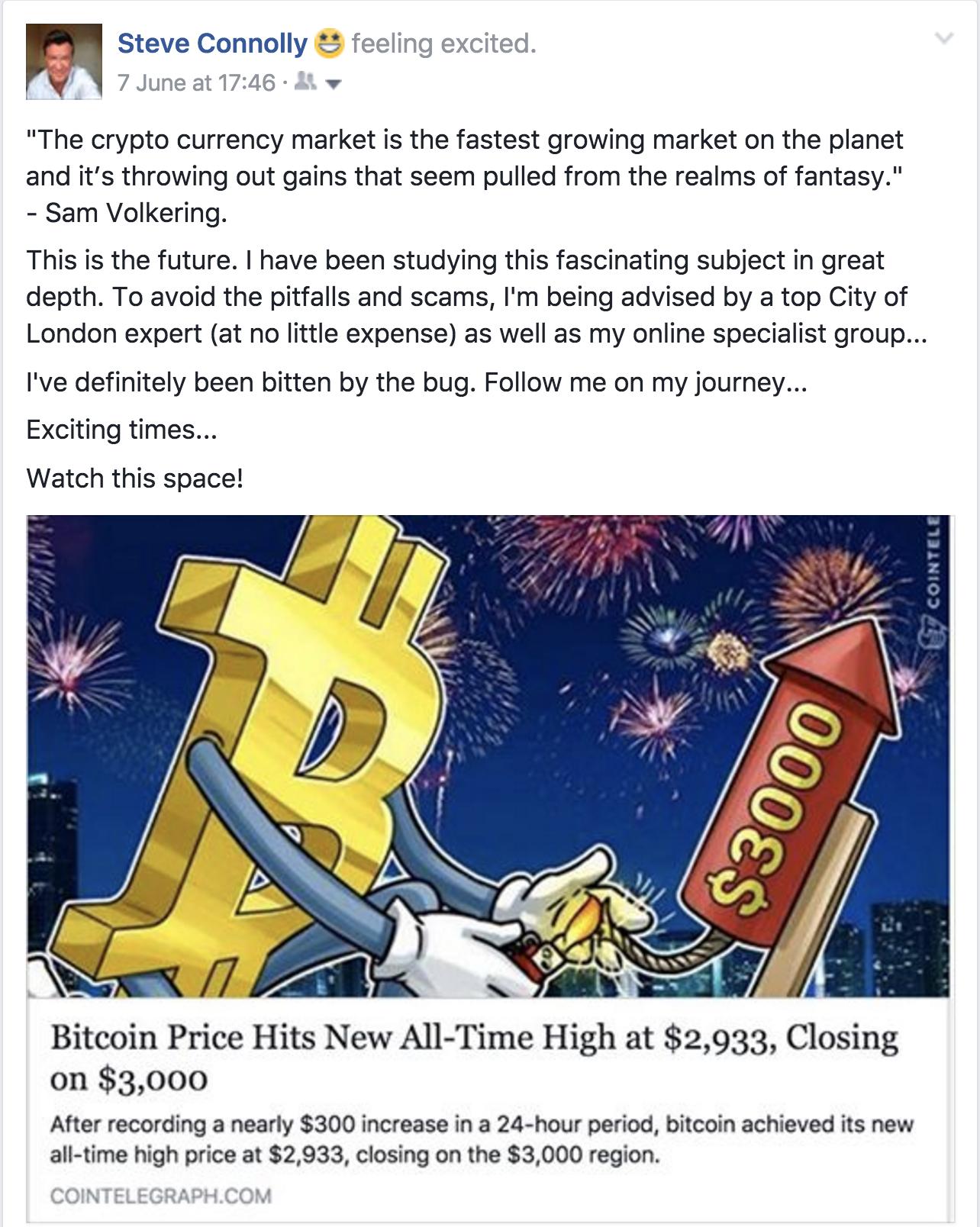 The Bitcoin explosion