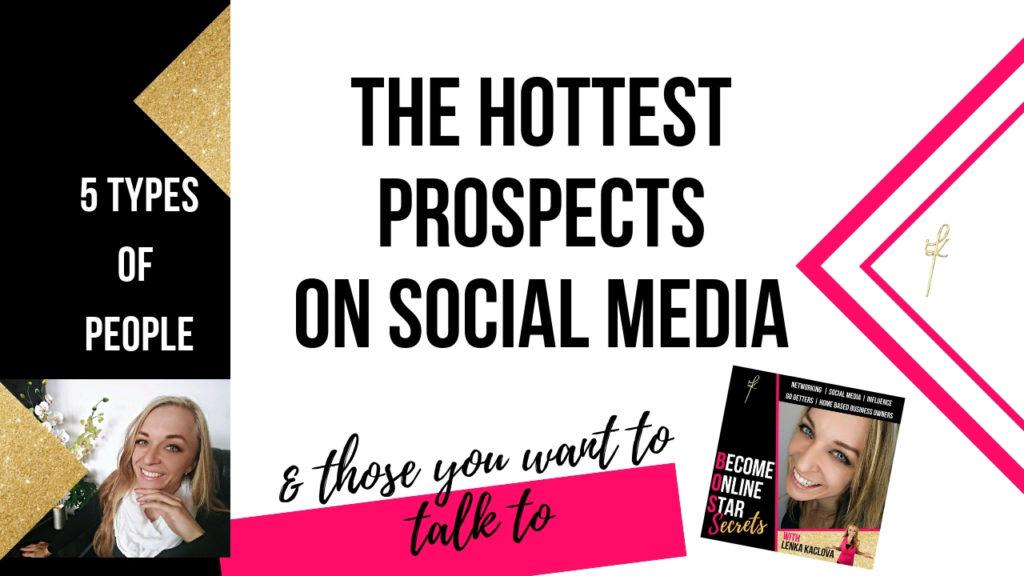 prospects on social media