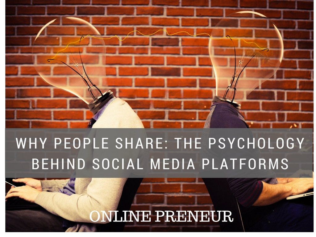 Why People Share: The Psychology Behind Social Media Platforms