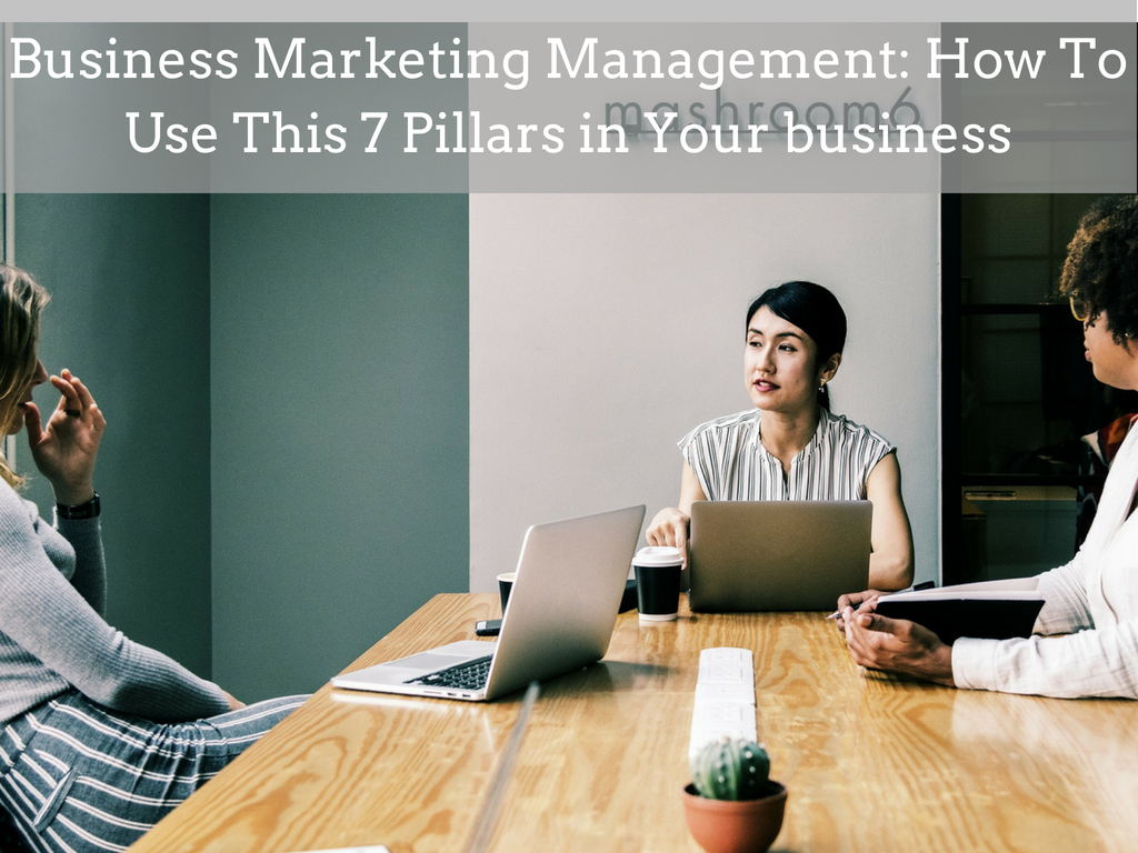 Business Marketing Management: How To Use This 7 Pillars in Your business
