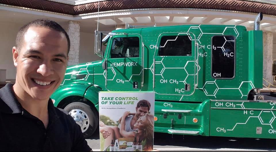 Hempworx Roadshow 2019 Truck (Take Control of Your Life!)