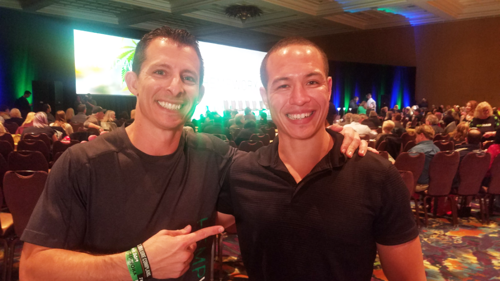 Aron Parker and Brian Cain (Hempworx Leaders - Las Vegas, NV Roadshow)