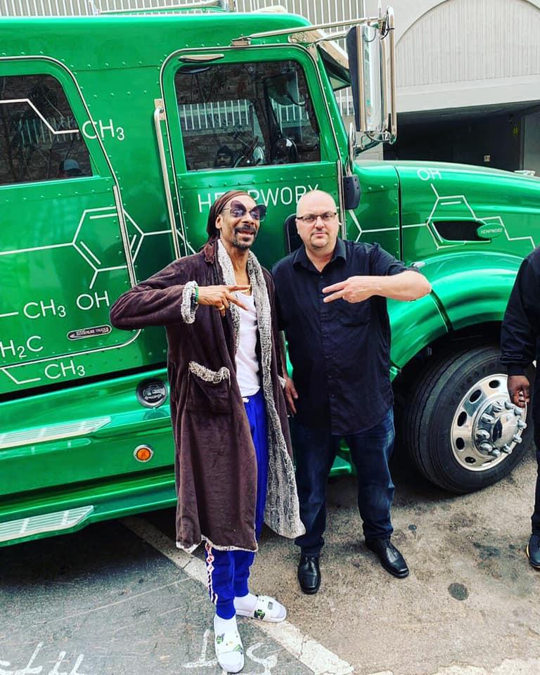 Snoop Dogg Hempworx Roadshow AZ Truck (My Daily Choice)