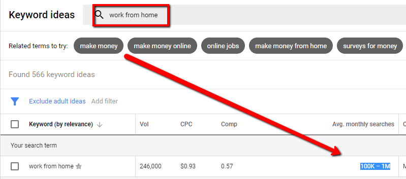 Jenna Zwagil Work From Home Keyword Search Proof Get Creative
