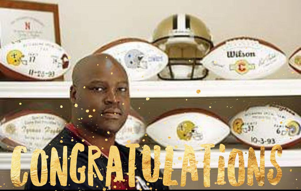Tyrone Hughes New Orleans Saints NFL Hall of Famer (Joins Hempworx CBD)