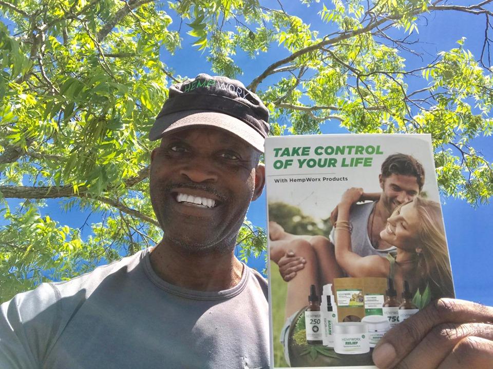 James Saunders - Hempworx Take Control of Your Life CBD Sample Kit