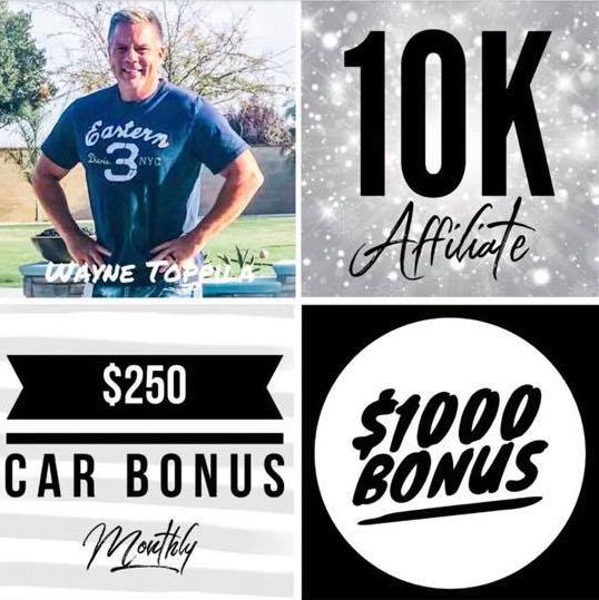 Wayne Toppila Hempworx Rank Up 10K May (MyDailyChoice)