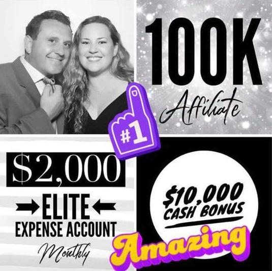 Andre and Tami Popa Hempworx Rank Up 100K May (MyDailyChoice)
