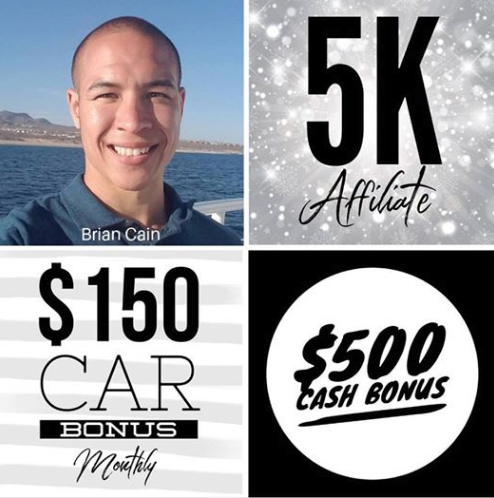 Brian Cain Hempworx Rank Up 5K May (MyDailyChoice)
