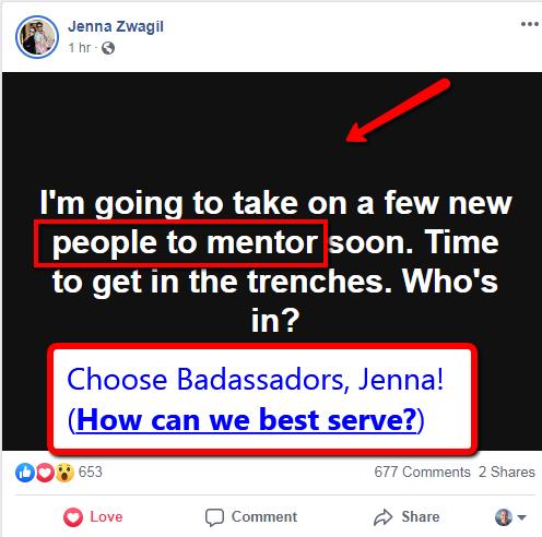 Jenna Zwagil may Coach Badassadors Shannon M Hamilton Tami Popa Wayne Toppila Hempworx