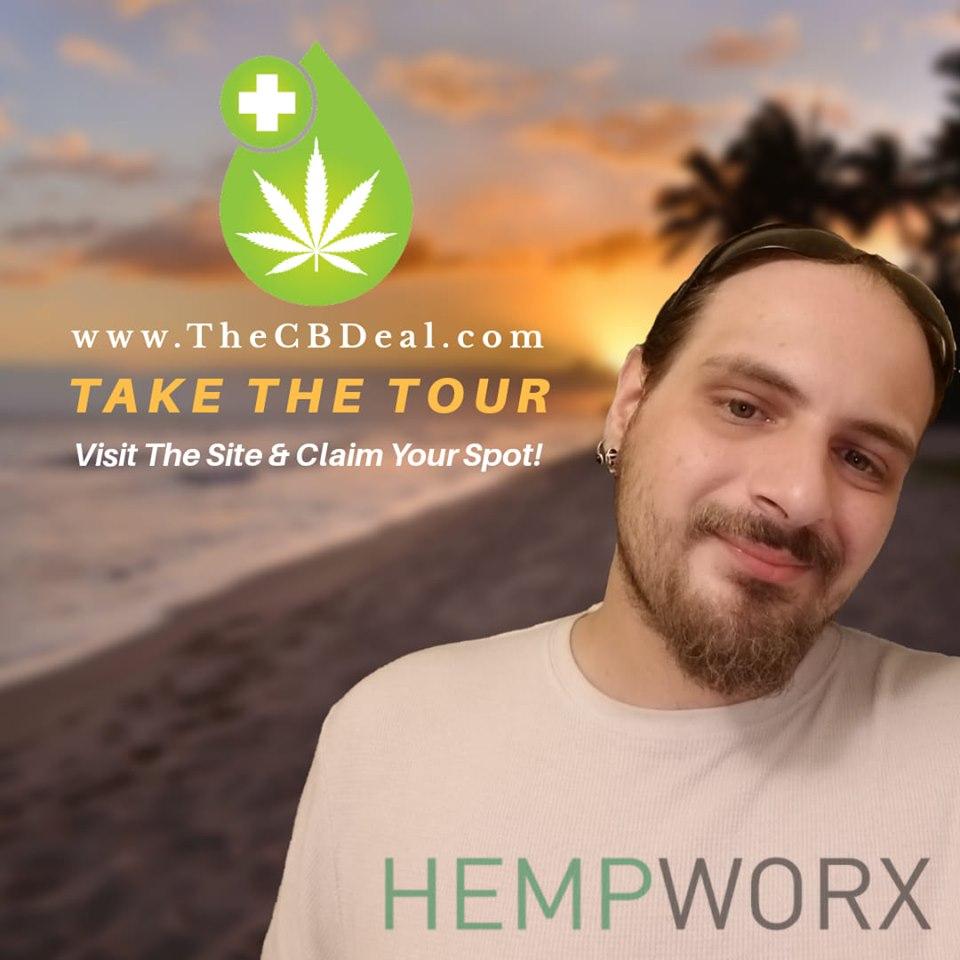 Jamie Gill Hempworx CBD Deal