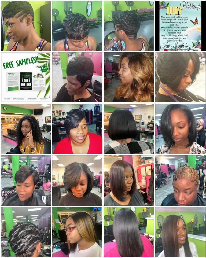 Alvert Epps Hempworx Hairstylist Examples of Work