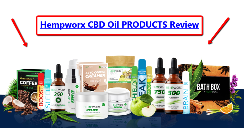 Hempworx CBD Oil Products Review (and MyDailychoice Sprays)