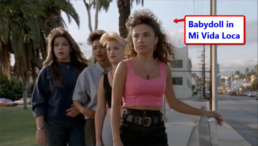 Christina Babydoll Caron in Mi Vida Loca Movie (Actor)